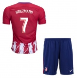 KIDS Home Jersey FC Atletico Madrid 17/18 Griezmann