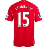 Home Jersey FC Liverpool 14/15 Sturridge