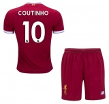 KIDS Home Jersey FC Liverpool 17/18 Coutinho