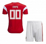 KIDS Home Jersey Russia 2018 YOUR NAME