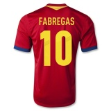 Home Jersey Spain 13/14 Fabregas