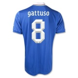 Home Jersey Italy  12/13 Gatusso