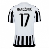 Home Authentic Jersey FC Juventus 15/16 Mandzukic