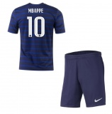 KIDS Home Jersey France Mbappe 2020 2021