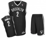 Kevin Garnett Brooklyn Nets road jersey + shorts (swingman)