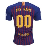 Home Jersey FC Barcelona 18/19 ANY NAME