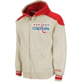 CCM Washington Capitals Classic Full Zip Hoodie