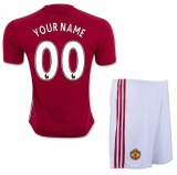 KIDS Home jersey FC MU 16/17 YOUR NAME