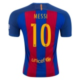 Home AeroSwift Authentic Jersey FC Barcelona 16/17 Messi