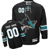 YOUR NAME San Jose Sharks Third Jersey