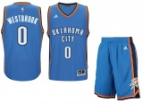 Russel Westbrook Road jersey + shorts (swingman)