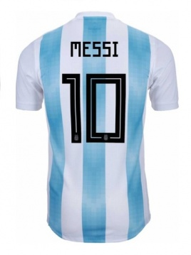 Home Authentic Jersey Argentina 2018 Messi