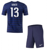 KIDS Home Jersey France Kante 2020 2021