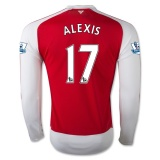Home Jersey LS FC Arsenal 15/16 Alexis
