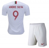 KIDS Away Jersey Portugal 2018 Andre Silva