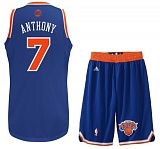 Carmelo Anthony road jersey + shorts (swingman)