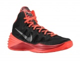 Nike Hyperdunk 2013 (Black/Metallic Silver/Gym Red/Bright Crimson)