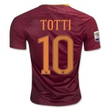 Home Jersey FC AS Roma 16/17 Totti