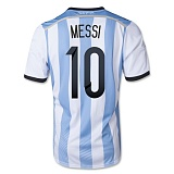 Home Jersey Argentina 2014 Messi