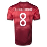 Home Jersey Portugal 2014 Moutinho