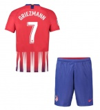 KIDS Home Jersey FC Atletico Madrid 18/19 Griezmann