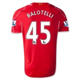 Home Jersey FC Liverpool 14/15 Balotelli