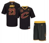 Lebron James Cavaliers Black jersey + shorts (swingman)