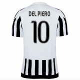 Home Authentic Jersey FC Juventus 15/16 Del Piero