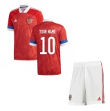 KIDS Home Jersey Russia 2020 YOUR NAME