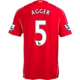 Home Jersey FC Liverpool 14/15 Agger