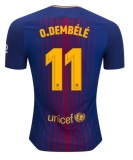 Home Authentic Jersey FC Barcelona 17/18 Dembele