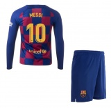 KIDS Home LS Jersey FC Barcelona 19/20 Messi
