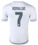 Home Authentic Jersey FC RM 15/16 Ronaldo