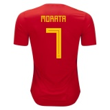 Home Jersey Spain 2018 Morata