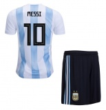 KIDS Home Jersey Argentina 2018 Messi