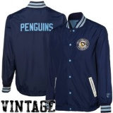 Mitchell & Ness Pittsburgh Penguins Full Button Jacket