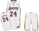 Kobe Bryant alternate jersey + shorts (swingman)