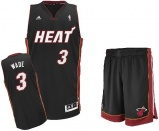 Dwayne Wade road jersey + shorts (swingman)