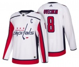 Ovechkin White Washington Capitals Road Jersey 18/19
