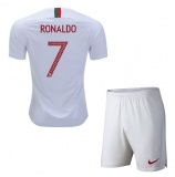 KIDS Away Jersey Portugal 2018 Ronaldo