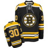 Thomas Boston Bruins Home Jersey