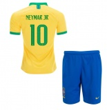 KIDS Home Jersey Brazil 2019 Neymar JR