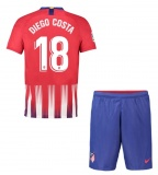 KIDS Home Jersey FC Atletico Madrid 18/19 Diego Costa