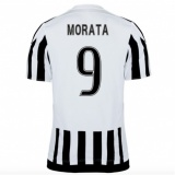 Home Authentic Jersey FC Juventus 15/16 Morata
