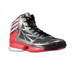 Adidas adiZero Crazy light 2 (Black White Scarlet)