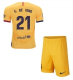 KIDS Away Jersey FC Barcelona 19/20 De Jong