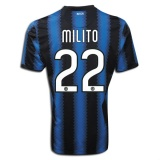 Home Jersey FC Inter Milan 10/11 Diego Milito