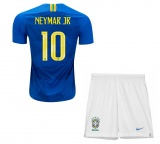 KIDS Away Jersey Brazil 2018 Neymar JR