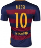 Home Authentic Jersey FC Barcelona 15/16 Messi
