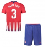 KIDS Home Jersey FC Atletico Madrid 18/19 Filipe Luis